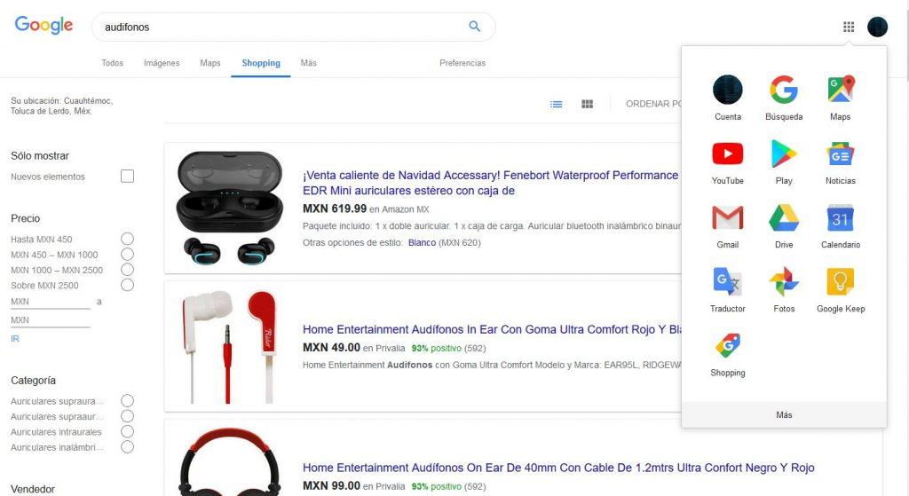 google tambien tiene tienda ahora mas util mas precisa